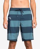 RVCA Men's Striped Swim Trunks