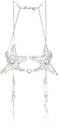 Susan Fang Shooting Stars beaded bubble bra
