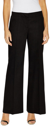 Lafayette 148 New York Kenmare Linen Flared Pant