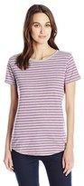 Hanes Women's Short Sleeve Shirttail Tee