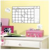 5.75 in. x 11.5 in. Universal Calendar Dry Erase Peel and Stick Wall Decals