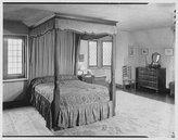 Historic Photographs Photo: JA Talbot,residence,Smoke Rise,Butler,New Jersey,South bedroom,bed,NJ,1951