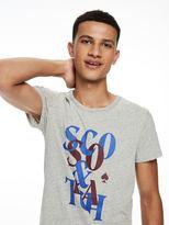 Scotch & Soda Burn-Out Logo T-Shirt