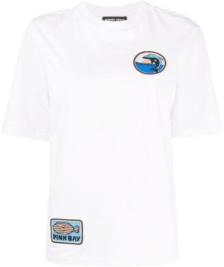 Markus Lupfer Nicola multi-patch T-shirt