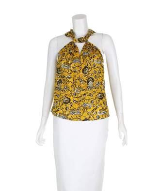 Isabel Marant Orange Cotton Top for Women