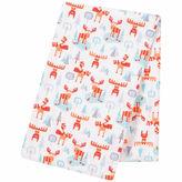 TREND LAB, LLC Trend Lab Winter Moose Jumbo Flannel Swaddle Blanket