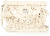 Figue Heidi Tuk Tuk embellished clutch