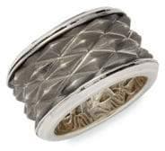 Effy Men's Sterling Silver Eternity Ring