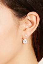 Forever 21 Cubic Zirconia Ear Jackets