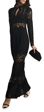 Reiss Miranda Lace Maxi Dress