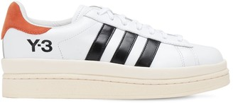 Y-3 Hicho Leather Sneakers