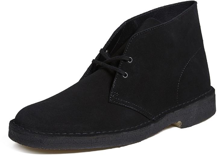 Clarks Black Desert Men's Boots | over