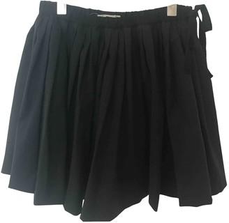 Bonpoint Black Wool Skirt for Women