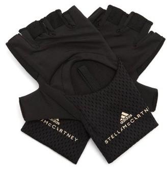 adidas by Stella McCartney Logo-print Training Gloves - Black
