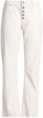 ALEXACHUNG Denim pants - Item 42744959PJ