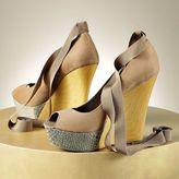 JLO by Jennifer Lopez peep-toe platform wedges - women
