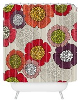 """DENY Designs Valentina Ramos Selene in Pink Shower Curtain by 71""""x74"""")"""