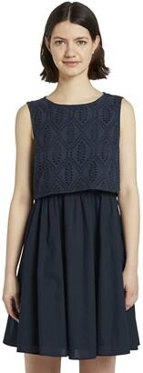 Tom Tailor Women's Schiffli Mix Dress
