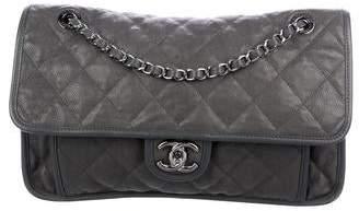 886e2e502537 Chanel Gray Flap Closure Handbags - ShopStyle