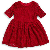 Pippa & Julie Girls 2-6x Lace Fit-and-Flare Dress