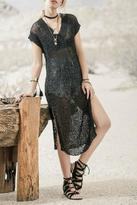Moon River Black Knit Dress