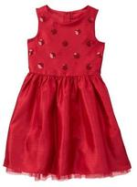 Gymboree Sequin Duppioni Dress