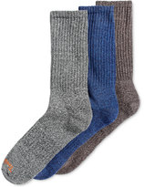 Timberland Men's 3 Pack Marled Crew Socks