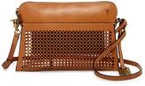 Frye Peyton Perforated Leather Crossbody