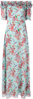 Giamba long floral off the shoulder dress - women - Silk - 44