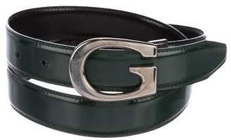 Gucci G Leather Belt