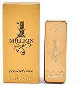 Paco Rabanne 1 Million Eau de Toilette, .17 oz DLX Miniature NEW ina box