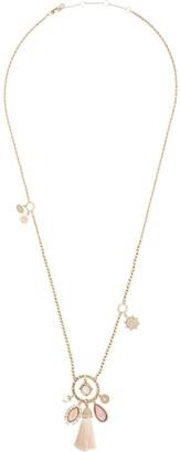 Marchesa Moment in the Sun tassel necklace