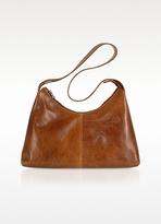 Handmade Brown Genuine Italian Leather Hobo Bag