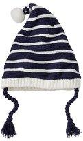 Kids Stripey Fleece Lined Gnome Cap