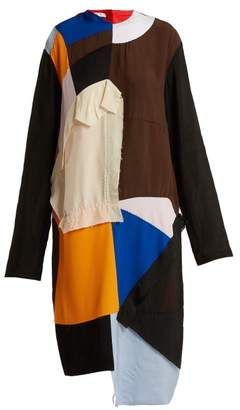 Marni Colour-block Patchwork Dress - Womens - Multi
