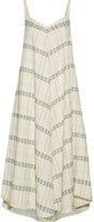 Hatch Liliana Embroidered Cotton-canvas Dress - 2
