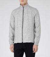 Reiss Motive Linen Textured Jacket