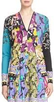 Etro 'Floral Patchwork' Silk & Cashmere Cardigan
