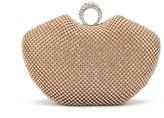 Chirrupy Chief Apple Shape Ring Clutch Purse Bling Rhinestone Crystal Clutch Bag