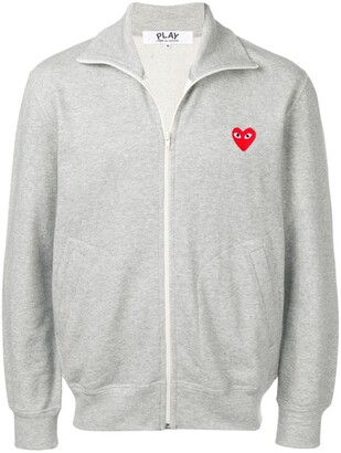 Comme des Garcons heart print track jacket