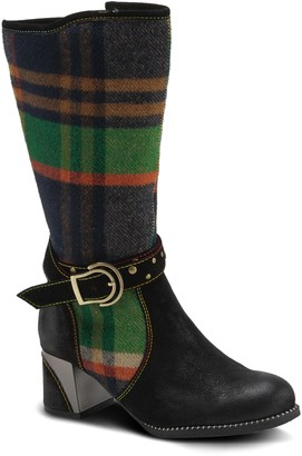 L'Artiste Hunter Faux Fur Lined Boot