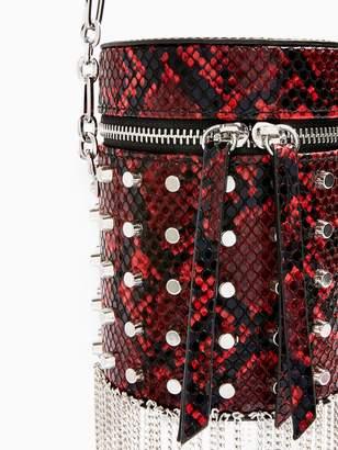 Topshop Perrie Barrel Bag - Red