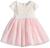 Rare Editions Lace & Tulle Dress, Baby Girls (0-24 months)