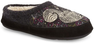Acorn 'Forest' Wool Mule Slipper