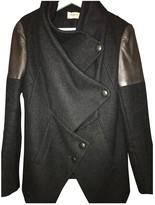 Eleven Paris Grey Wool Coat for Women