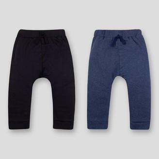 Lamaze Baby 2pk Organic Cotton Pull-on-Pants - Blue/