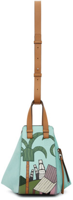 Loewe Green Ken Price Edition LA Series City Small Hammock Bag