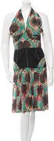 Sophie Theallet Silk Halter Dress w/ Tags
