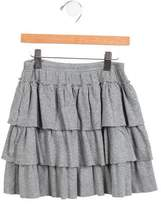 Petit Bateau Girls' Layered Skirt
