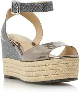 Head Over Heels KALMIA - Two Part Espadrille Wedge Sandal